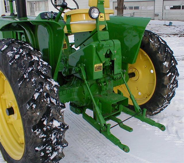 Three Point Hitch John Deere 60 : John deere gas tractor with point hitch for sale