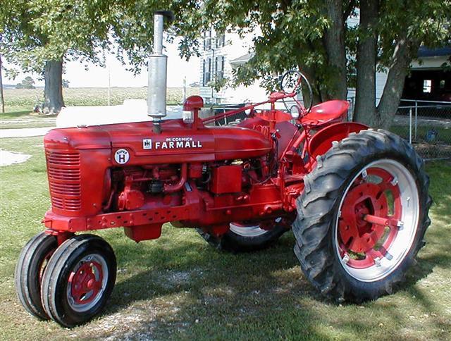 1953 farmall super h restored tractor for sale