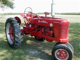 Farmall Super H with M&W Hand Clutch from chats tractors