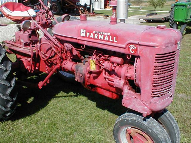 farmall super c implements - photo #46