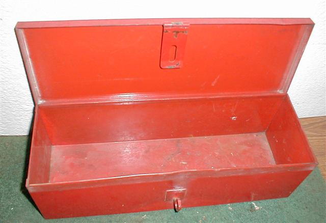 Tool Box For Tractor : Ih gas tank fuel gauge