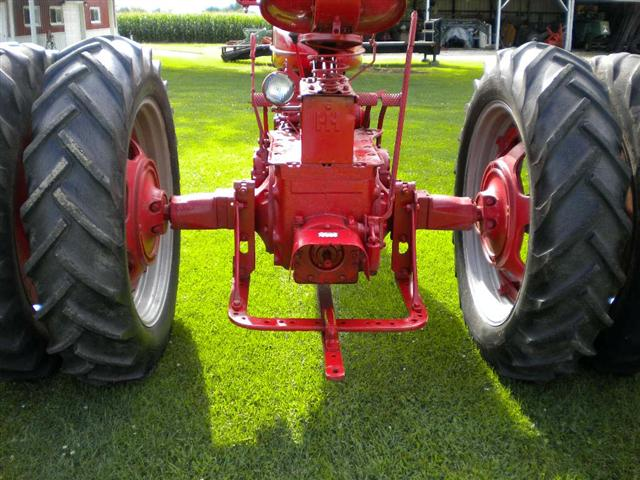 Hub Axle Duals Tractor : Farmall spin out rear rims and tires for sale