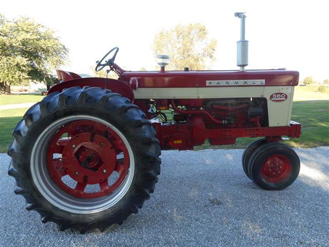 Farmall 560 Rear Wheels : Farmall tractor for sale
