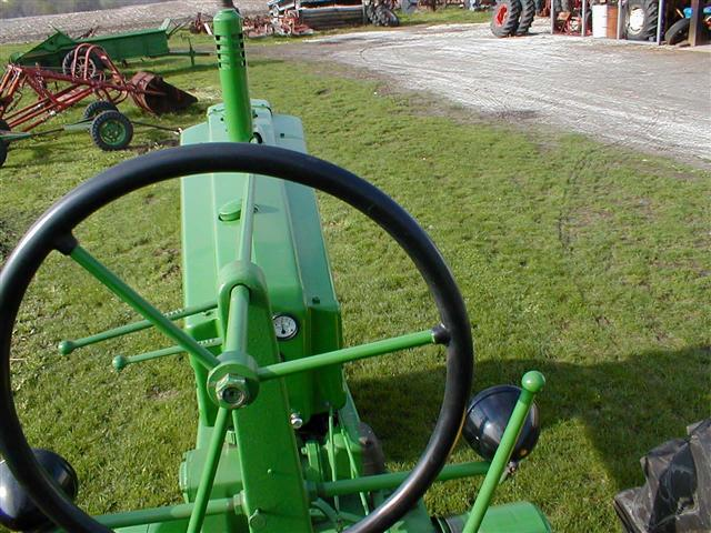 John Deere B Hood : John deere jd model b tractor for sale