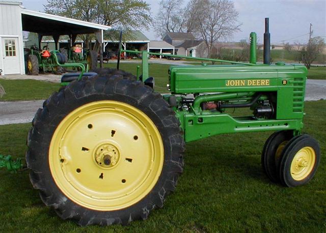 Split A Ford Tractor : John deere jd model b tractor for sale